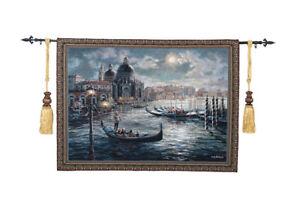 Tapestry decorative painting tarpaulin European modern background Venice style