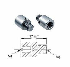 Adaptateur de filetage - M6 M4 - Thread adapter adaptor External Internal Metric