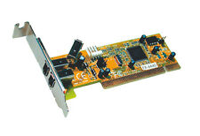 Exsys EX-6440 - Low Profile PCI Card Firewire 400 with 2+1 Ports