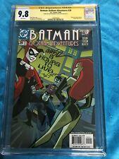 Batman Gotham Adventures #29 - CGC SS 9.8 -Sig by Rousseau, Staton -Harley Quinn