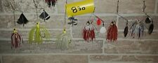 Lot Of 6 New Booyah Baits (3)  Spinnerbaits & (3) Buzzbaits (Lot#830 )