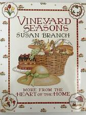 Susan Branch-  VINEYARD SEASONS-More from HEART OF THE HOME- COOKBOOK- NEW!!!