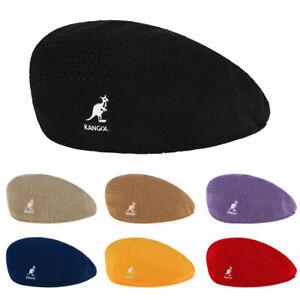 Classic Kan-gol Berets Casual Knitting Mesh Hat Men Women Hats 8- Colors