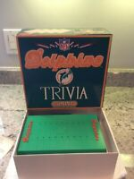 Vintage MIAMI DOLPHINS Trivia Game Football NFL - Pre-Owned