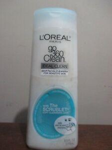 L'Oreal Paris Go 360 Clean, Deep Facial Cleanser for Sensitive Skin 6 oz