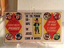 1966 TOPPS COMIC BOOK FOLDEES #29 - EVIL PENGUIN