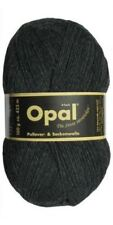 "Opal ""Uni"" Solid Sock Yarn - Antracite (5191) + pattern"