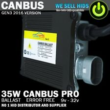 CANBUS PRO BALLAST NO ERRORS 35W REPLACEMENT FOR BMW AUDI VW MERCEDES VAUXHALL