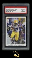 🌟2020 Clyde Edwards-Helaire Leaf Draft Retail Rookie 1st Graded 10 K.C. Chiefs