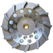 "7"" Pro.Turbo Diamond Cup Wheel Concrete Stone Masonry Grinding 5/8-7/8-BEST"