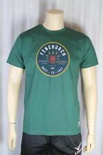 Fenchurch hombre verde botella Camiseta Talla Mediana (86)