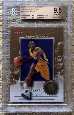 2001 FLEER AUTHORITY PROMINENCE 8/75 KOBE BRYANT RC BGS 9.5 JERSEY# CARDREGISTRY