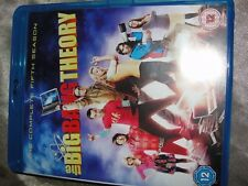 The Big Bang Theory - Season 5  Blu Ray-2X DISCS, 5.1 DTS 501 MINS-SUPERB FUNNY