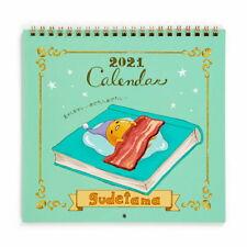 Gudetama egg Wall Calendar M 2021 Sanrio Kawaii Cute NEW