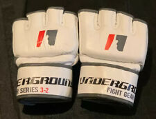 Mma Gloves White Competition Pro Style Mma Gloves Hook and Loop Closure