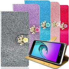 Mobile Phone Bag Glitter Protective Case Flip Cover Case Bumper Mobile Phone Cover Wallet Pouch