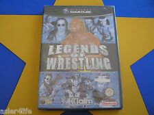 LEGENDS OF WRESTLING (NEW&SEALED) - GAMECUBE - Wii Compatible