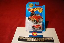 Hot Wheels - Pedal Driver - 2015 HW City - 74/250 1:64 Red