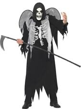 Smiffys Halloween Costume Angel Of Death Grim Reaper With FREE scythe!