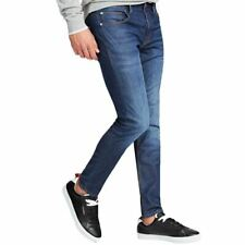 Guess Usa  Denim Chris Skinny Featherweight Jeans - Mid Blue M02A27D3ZM1