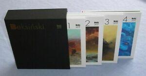 Beksiński Set of 4 Albums in the box / Zdzislaw Beksinski Painting