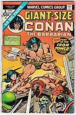 GIANT-SIZE CONAN #3 (FN-) Big 68 Pages! Sword & Sorcery! 1975 Robert E. Howard