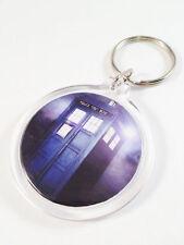 Doctor Who Tardis Blue Key Chain -  Dr Who Zipper Charm Costume Keyring Ring