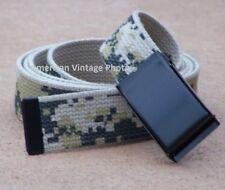 Flip Buckle Belt Web Digital Camo Army Military USMC Marine f Golf Sport Tennis