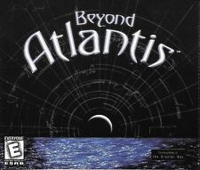 Beyond Atlantis 4 Disc CD-ROM Game Dreamcatcher Windows 98
