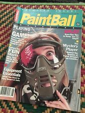 Vintage 1991 Premier Issue #1 Paintball Magazine Sport Of The 90s Rare OOP