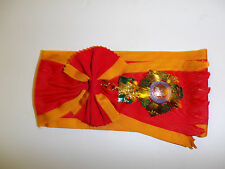 0372 RVN National order of Vietnam Sash w/Medal 1st First class Grand Cross IR5A