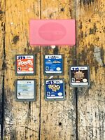 Nintendo DS Game Lot Of (5) And OEM Game Case