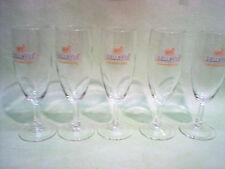 5 verres à bière BELLE VUE