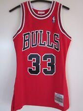 Trikot NBA Chicago Bulls Dennis Rodman 353JA Bulls 33 Größe S rot