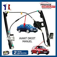 Mecanisme Leve Vitre Manuel Avant Droit Vw Golf 3 III Vento 1h0837402b 1h0837402