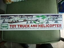 NIB* 2006 Hess Toy Truck, Helicopter Collectible Operating Rotors and Lights