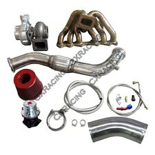 Turbo Manifold Downpipe Oil Line Kit For SC300 1JZ-GTE 1JZGTE Swap
