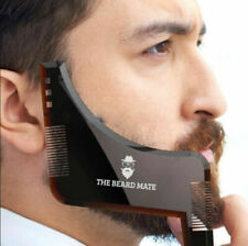 Beard Styling Shaping Template Comb Barber Tool Symmetry Line Up Trimming Guide