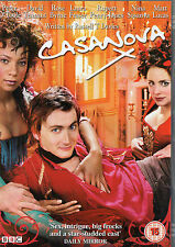 CASANOVA DAVID TENNANT PETER O'TOOLE ROSE BYRNE BBC WARNER VISION UK DVD NEW