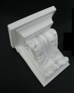 1x Plaster Corbel, LOOK AT THE VIDEO , WHITE