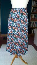 Seasalt Orchard Skirt Pen Mark Floral Night Size 16 BNWT