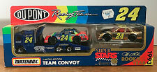 Matchbox Limited Edition Team Convoy Dupont Racing Team - Jeff Gordon Rookie Car