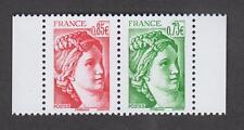 Paire neuve ** venant du carnet 40 ans Sabine de Gandon - N°5183 et 5184 - 2017