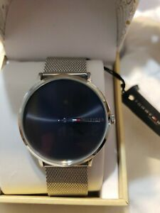 Tommy Hilfiger James 1791465 Stainless Mesh Men's Watch - New!