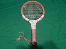 Vintage Sportcraft Wood Wooden Paddleball Paddle Ball Racket Racquet Made Japan