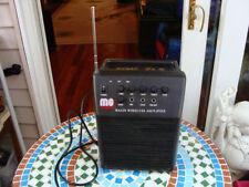 MG WA320 Wireless Amplifier Portable Public System