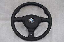 BMW e36 e31 e34 SPORT STEERING WHEEL M3 M technic 2 MT2 - FULL LEATHER  - 370 mm