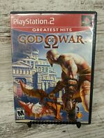 God of War Greatest Hits Playstation 2 PS2 Video Game Complete