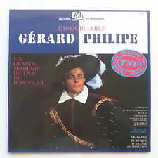 L inoubliable gerard philipe Grands moments TNP JEAN VILAR 19013 2XLP