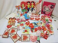 Lot of 30+ Vintage 1960s Children's Valentines Most Never Used